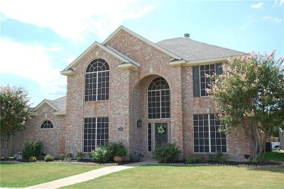 Rowlett TX Single Family Home Active Option Contract: $272,000