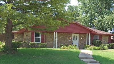 Plano Single Family Home Active Option Contract: 1916 Papeete Drive