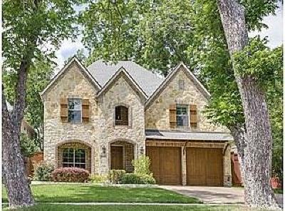 Dallas Single Family Home For Sale: 6147 Goliad Avenue