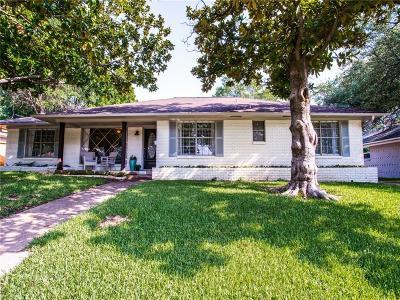 Dallas Single Family Home For Sale: 6231 Berwyn Lane
