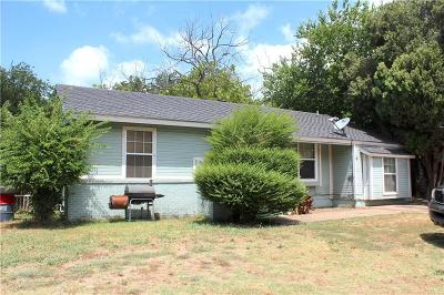 Fort Worth Single Family Home For Sale: 3404 Hatcher Street