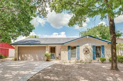 Plano Single Family Home Active Option Contract: 3412 Tarkio Road