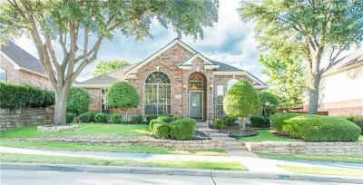 Lewisville Single Family Home Active Option Contract: 2793 Vista Bluff Boulevard