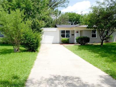 Farmers Branch Single Family Home Active Option Contract: 13944 Dennis Lane