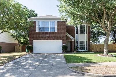 Cedar Hill Single Family Home Active Option Contract: 412 Sierra Way