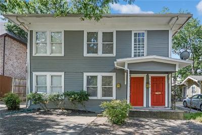 Dallas Single Family Home For Sale: 5632 Willis Avenue