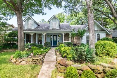 Coppell Single Family Home Active Contingent: 111 Creekside Lane