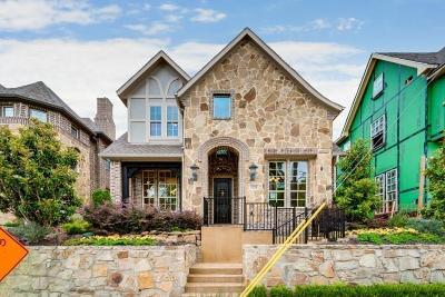 Dallas Single Family Home For Sale: 1124 Shadyside Lane