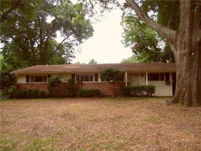 Tyler Single Family Home Active Option Contract: 614 Zelwood Drive