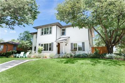 Dallas Single Family Home For Sale: 6467 Vanderbilt Avenue