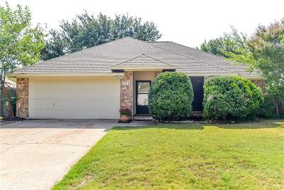 Flower Mound Single Family Home For Sale: 1112 Colony Street