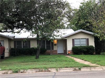 Brownwood Single Family Home For Sale: 1110 Magnolia