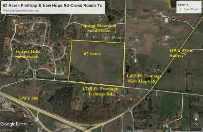 Cross Roads Farm & Ranch For Sale: 2400 Fishtrap Road