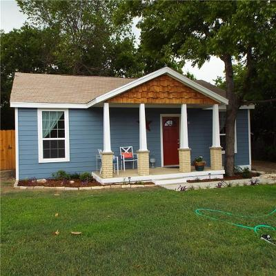 White Settlement Single Family Home Active Option Contract: 8400 Wyatt Drive