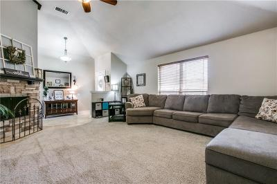 Coppell Single Family Home Active Option Contract: 341 Phillips Drive