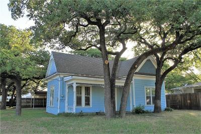 Erath County Single Family Home For Sale: 421 W Collins Street