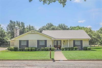 Corsicana Single Family Home Active Option Contract: 1609 Woodcrest Avenue