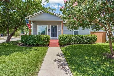 Fort Worth Single Family Home For Sale: 4836 Calmont Avenue