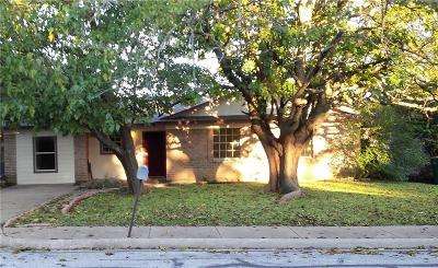 Cedar Hill Single Family Home Active Option Contract: 1239 Mars Drive