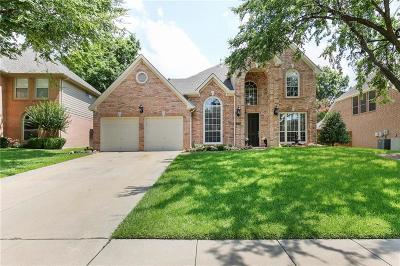 Grapevine TX Single Family Home Active Option Contract: $450,000