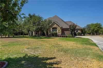 Azle Single Family Home For Sale: 106 Wagons Court
