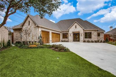 Dallas Single Family Home For Sale: 6913 Valley View Lane