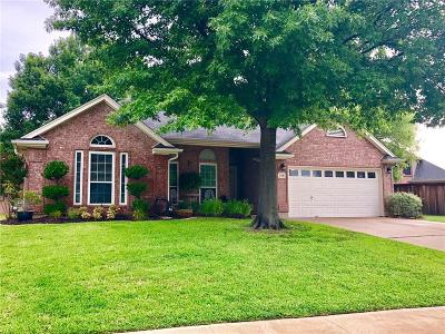 Keller Single Family Home Active Option Contract: 216 Redwood Court