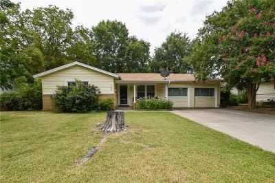 Haltom City Single Family Home Active Option Contract: 5308 Madella Street