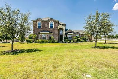 Haslet Single Family Home Active Option Contract: 2016 Meadow Springs Drive