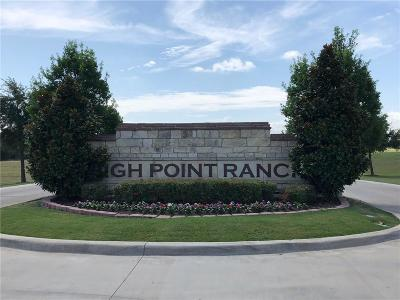 Rockwall, Royse City, Fate, Heath, Mclendon Chisholm Residential Lots & Land For Sale: 975 High Plains Trail
