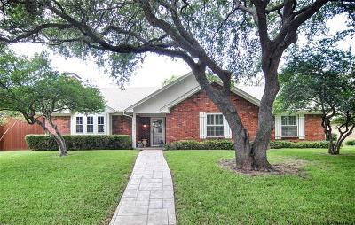 Plano Single Family Home Active Option Contract: 2001 Lake Side Lane