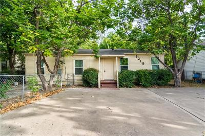 Dallas Single Family Home For Sale: 3215 Morgan Drive