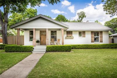 Dallas Single Family Home For Sale: 704 Parkhurst Drive