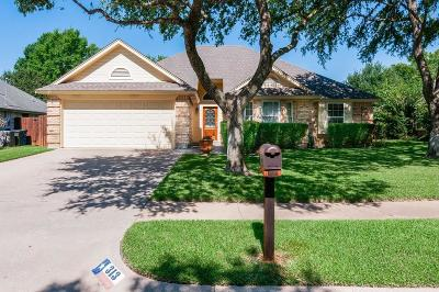 Keller Single Family Home Active Option Contract: 313 Cindy Street S