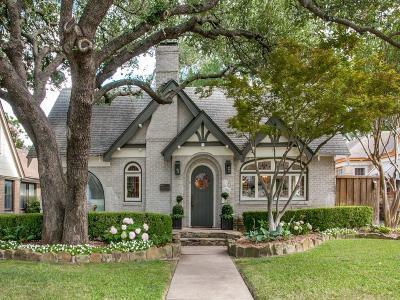 Dallas Single Family Home For Sale: 5440 Vanderbilt Avenue