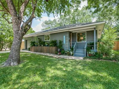 Dallas Single Family Home For Sale: 10230 Eastwood Drive