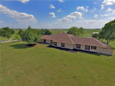 Forney Single Family Home For Sale: 10895 Kaufmancounty Road 212