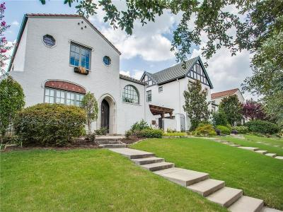 Fort Worth Single Family Home For Sale: 3721 W 4th Street
