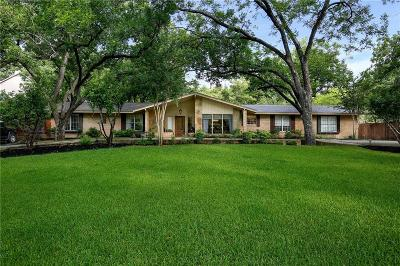 Dallas Single Family Home For Sale: 6746 Ridgeview Circle