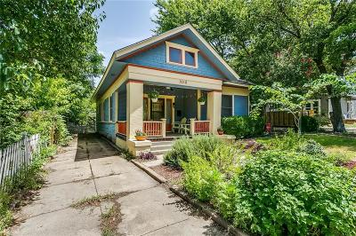 Fort Worth Single Family Home For Sale: 1010 Hawthorne Avenue
