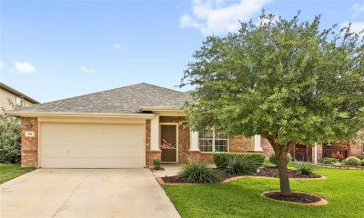 Fate Single Family Home For Sale: 408 Hackberry Drive