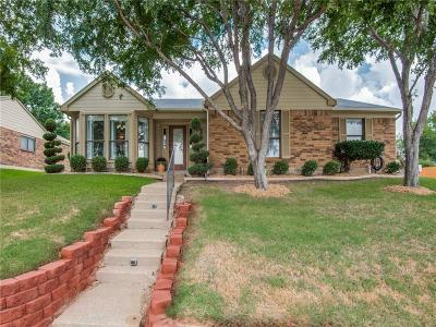 Coppell Single Family Home Active Option Contract: 301 S Macarthur Boulevard