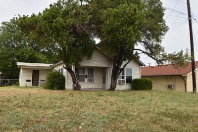 Stephenville Single Family Home For Sale: 104 East Road