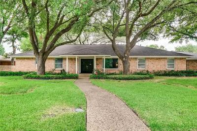 Dallas Single Family Home Active Option Contract: 4408 Twin Post Road