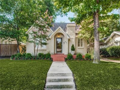 Fort Worth Single Family Home For Sale: 3921 Mattison Avenue