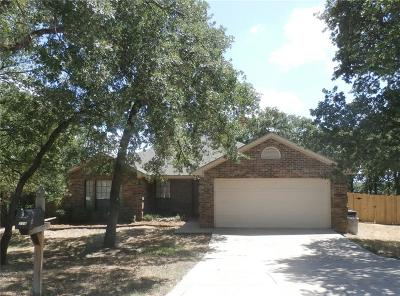 Azle Single Family Home Active Option Contract: 208 Lake Crest Parkway Court