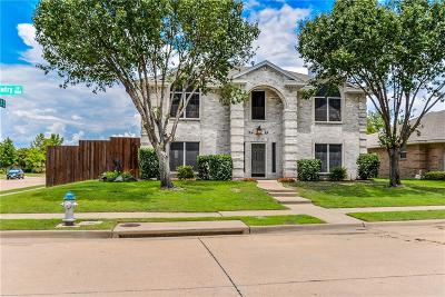 Allen Single Family Home Active Contingent: 1501 High Country Lane