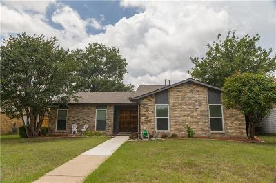 Plano Single Family Home Active Option Contract: 6529 Ember Court