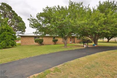 Abilene Single Family Home Active Option Contract: 1633 Old Key Lane