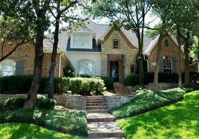 Highland Village Single Family Home Active Contingent: 3107 Clear Lake Lane